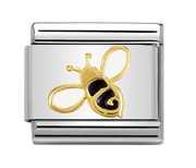 Nomination Gold Bee Charm
