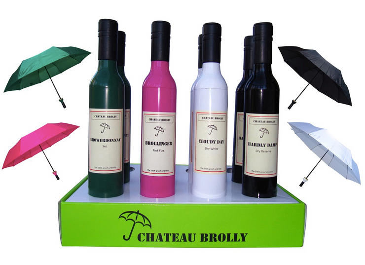 Wine Brolley Umberellas