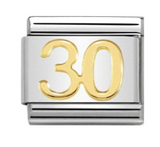 Nomination Gold 30 Charm