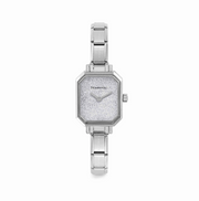 Nomination Silver Glitter Face Watch 076030/023
