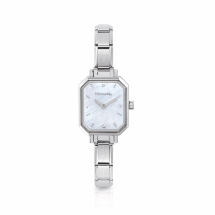 Nomination Silver Mother of Pearl Face Watch 076030/008
