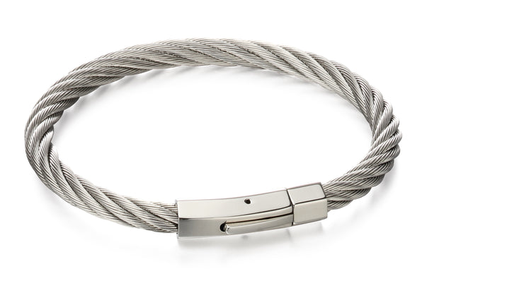 Fred Bennett Twised Wire Cable Bracelet b5053