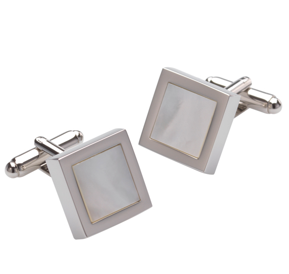 DUNCAN WALTON MOTHER OF PEARL CUFFLINKS
