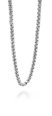 Fred Bennett Stainless Steel Belcher Necklace N3735