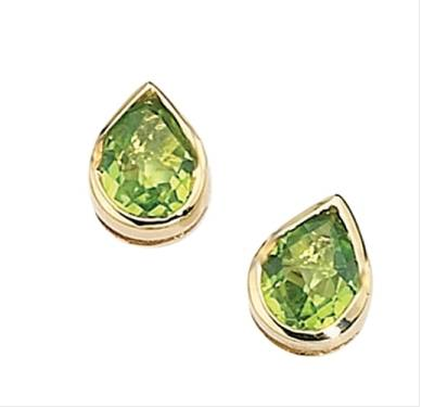 PERIDOT EARRINGS GE489G