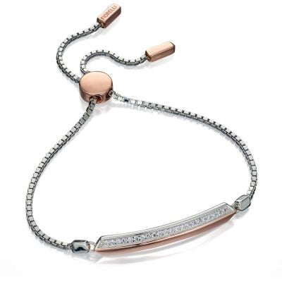 Fiorelli Rose Gold and Silver Bracelet.