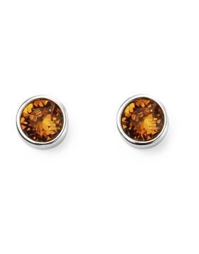 Beginnings November Birthstone Studs