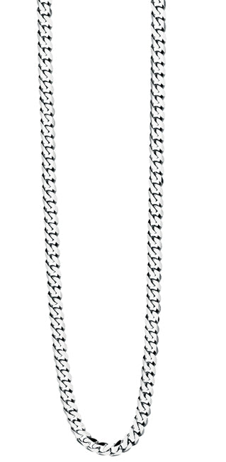 Gents Stainless Steel Curb Chain Necklace