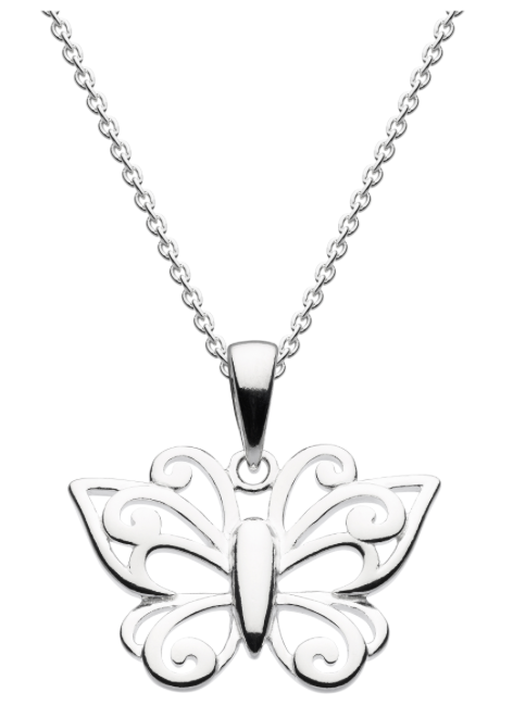 Dew Big Butterfly Pendant 9712