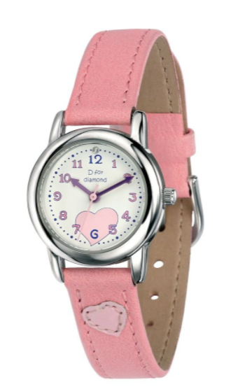 D For Diamond Pink Watch z783