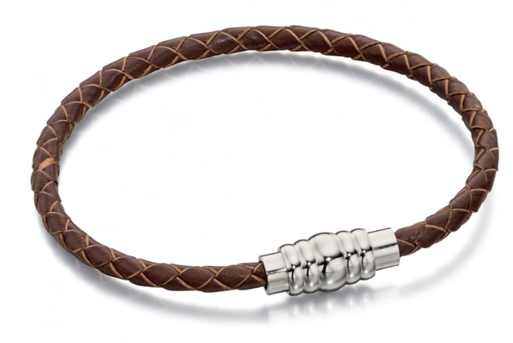Fred Bennett Slim Leather Bracelet