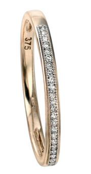 Elements Yellow Gold Diamond Eternity Ring gr511