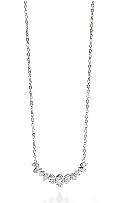 Fiorelli marquise necklace