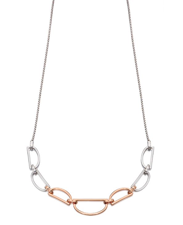 Fiorelli D shoe link necklace