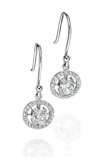 Fiorelli Cz circle earrings
