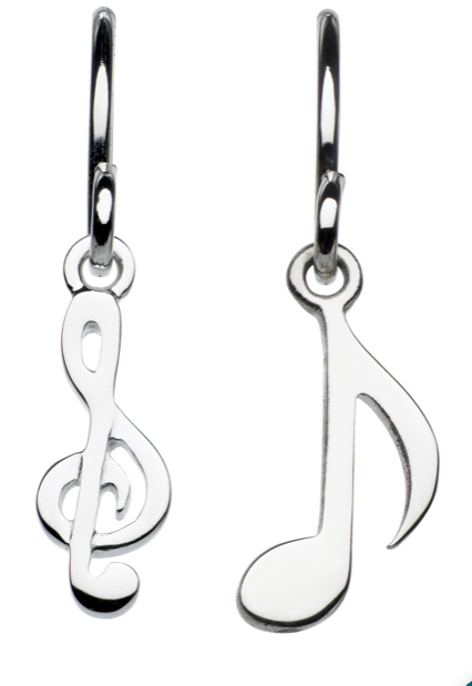 Music Drop earrings