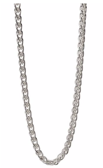 Fred Bennett Sterling Silver Spiga Necklace n4148