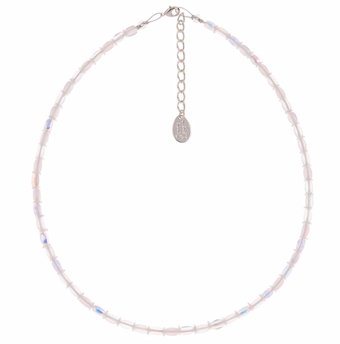 Carrie Elspeth White Bridal Bead Necklace N1544