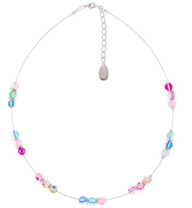 Carrie Elspeth Halo Spaced Necklace n1422