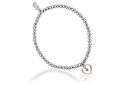 Clogau WELSH GOLD Tree Of Life Heart Affinity Bead Bracelet 3SBB7