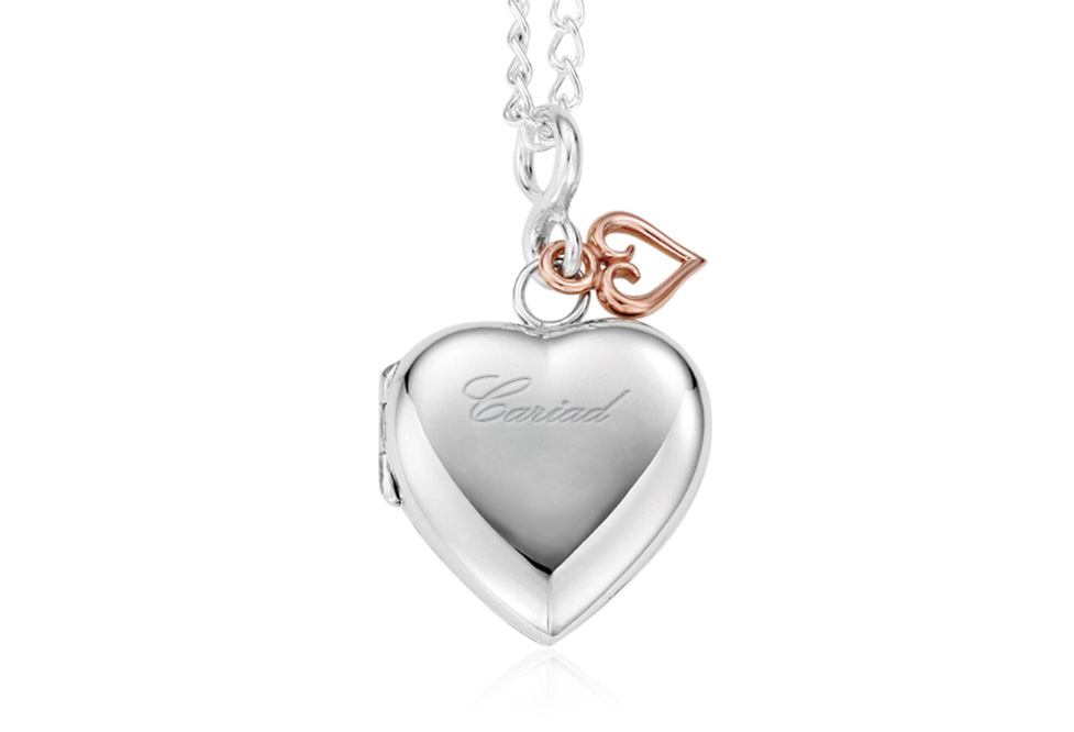 Clogau Gold Cariad Heart Locket SCLP 189