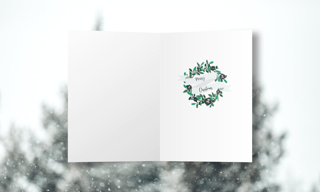"""It's the most wonderful time of year"" Christmas Cards"