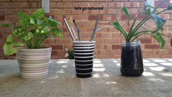 Reusable Straws- Stainless Steel Metal Straws