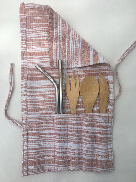 Reusable Cutlery and Straw Set