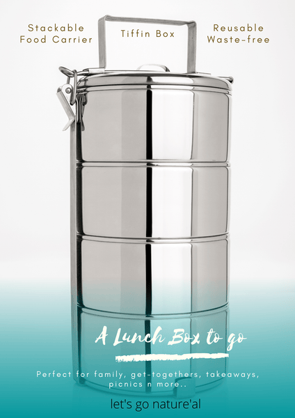Stackable Lunch Box commonly know as Tiffin