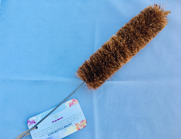 Bottle Cleaning Brush made from Coir Fibre