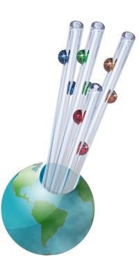 Decorative Glass Straws