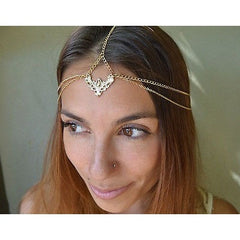Gold Cressida Headpiece