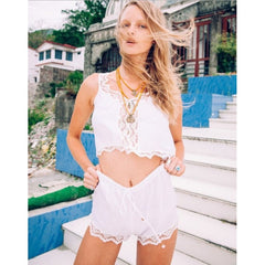 Lulu Shorts in White