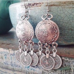 Anatolian Turkish Coin Earrings