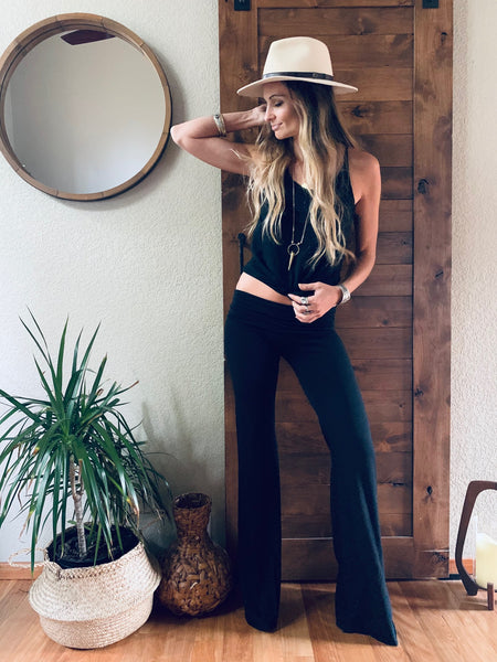 Temple Pant in Black