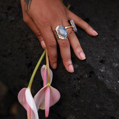Spirit Ring :: Moonstone