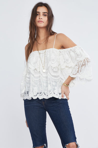 Twiggy Ruffle Top