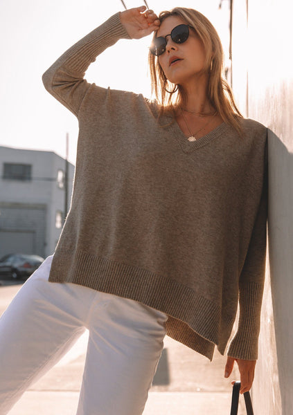 Cora Sweater - Taupe