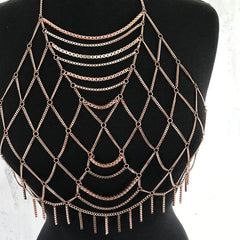 Chained to You Body Chain - Gold, Silver or Rose Gold