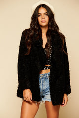 Penny Lane Jacket in Black
