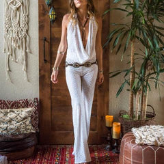 THE Jumpsuit in White