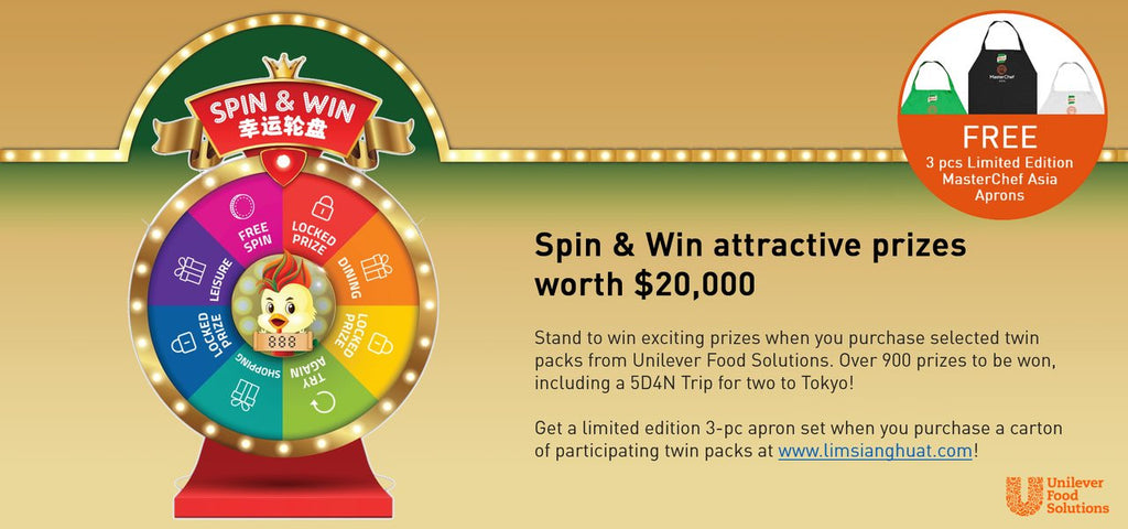 Spin & Win Attractive Prizes