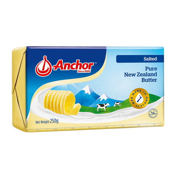 Anchor Salted Butter 40x250g - LimSiangHuat