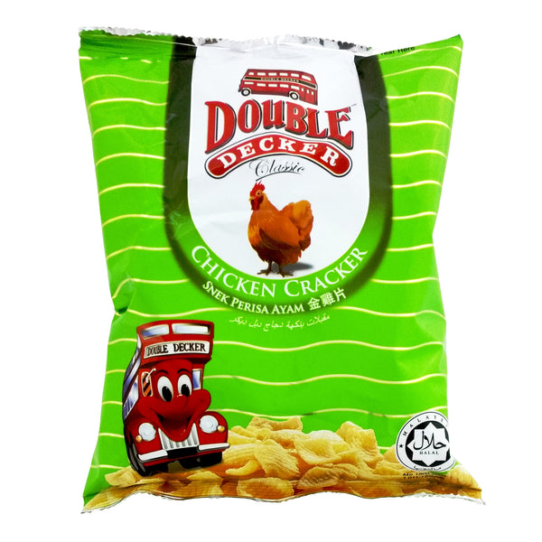 Chicken Cracker - Double Decker 3x10x40g - LimSiangHuat