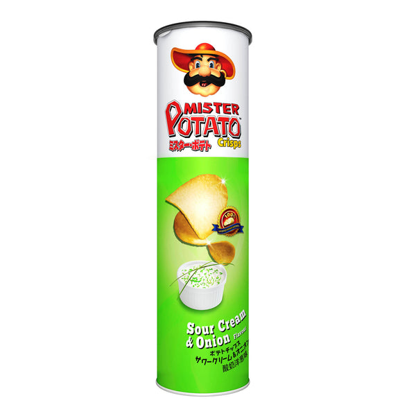 Sour Cream & Onion - Mister Potato Crisps 14x130g