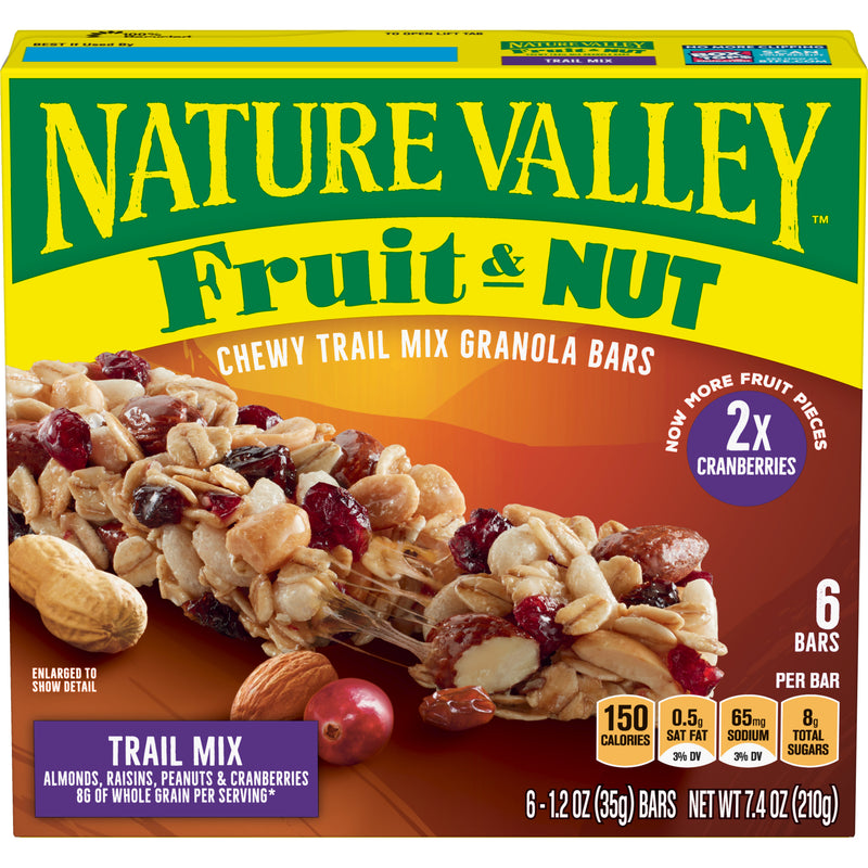 "Crunchy Granola Bars ""Fruit Nuts""- Nature Valley 12x6'sx35g"