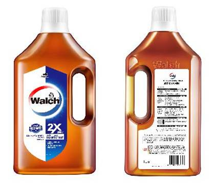 Walch Multi Purpose Disinfectant (2x) 6x1600ml