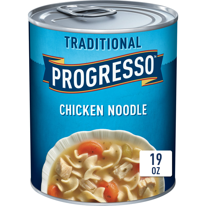 "Traditional Soup ""Chicken Noodle""-12x19oz Progresso"