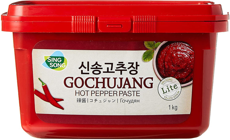 Korea Hot(Pepper)Bean Paste(Red)-Hae Chan Deul 12x1kg