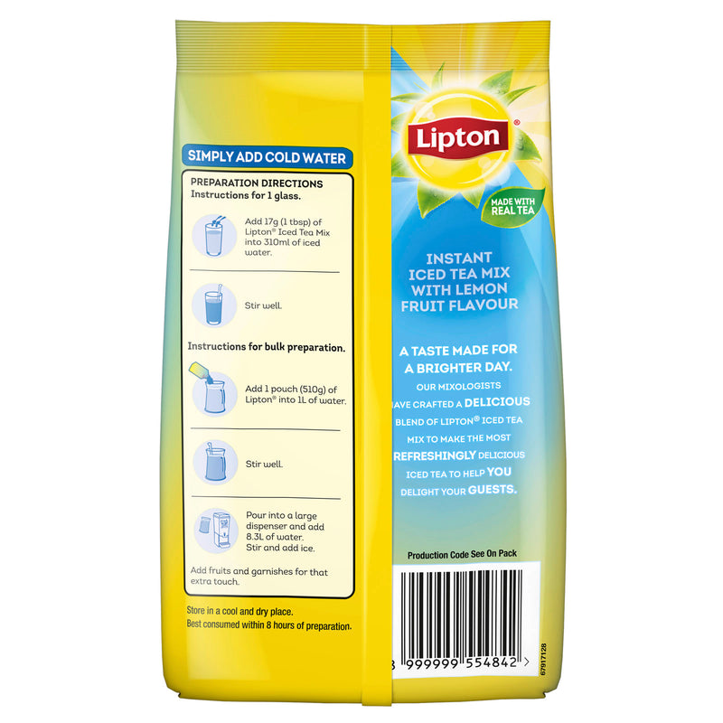 Lipton Iced Tea Mix - Lemon - 12x510g - LimSiangHuat